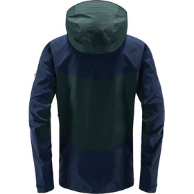 Haglöfs Spitz Jacket Herr mineral/tarn blue